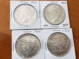 US Peace Dollar Lot