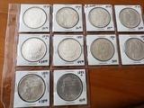 Morgan Dollar Lot of Ten Coins