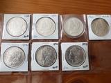 Morgan Dollar Lot of Seven coins