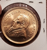 1976 gold Krugerrand Gold Coin 1oz