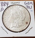 1884 Morgan Dollar Choice BU