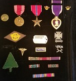 US Military Service Pin Lot