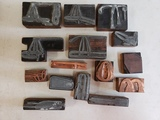 Bona Allen Saddle Company Print Blocks