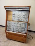 Vintage Case Knife Display