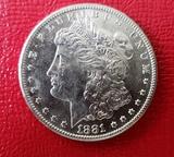 1881 S Morgan Dollar Coin