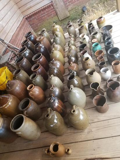 Southern Pottery & Coin Auction