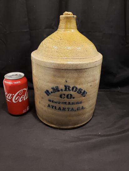Exceptional R.M. Rose One Gallon Kline Jug