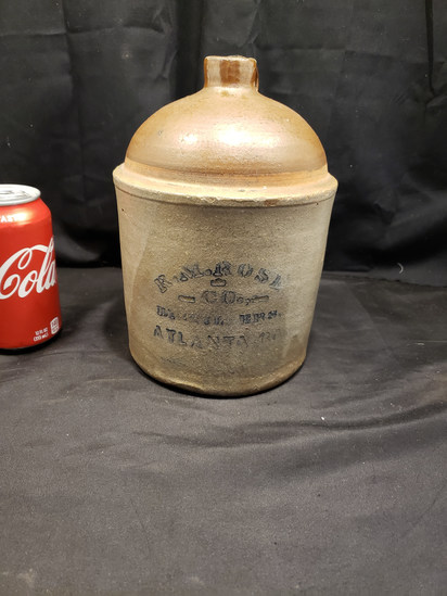 R. M. Rose Half Gallon Jug Kline Maker
