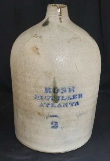 Great C.H. Bird R.M. Rose Two Gallon Atlanta Jug