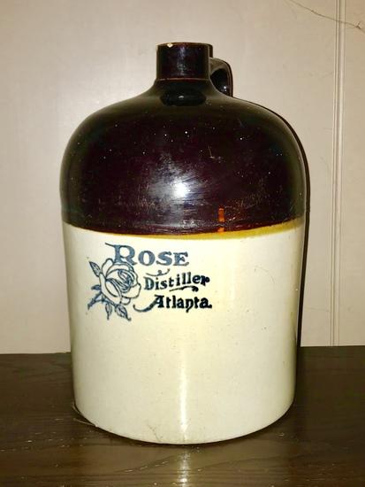 Rare 3 Gallon RM Rose Atlanta Jug