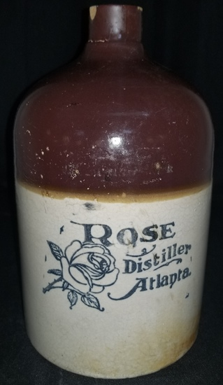 1 gallon RM Rose Atlanta liquor jug
