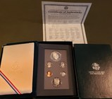 1990 US Mint Prestige Coin Set