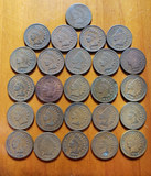 25 Indian Head Pennies