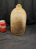 Cobalt James Benjamin wholesale stoneware depot Ohio Jug