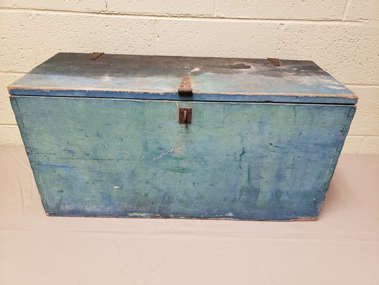 Early 1900's Dovetailed Tool Box