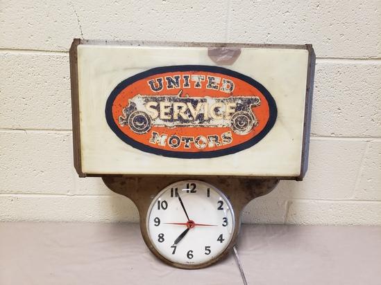 1940's United Service Clock
