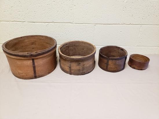 1800's Wood Grain Measures