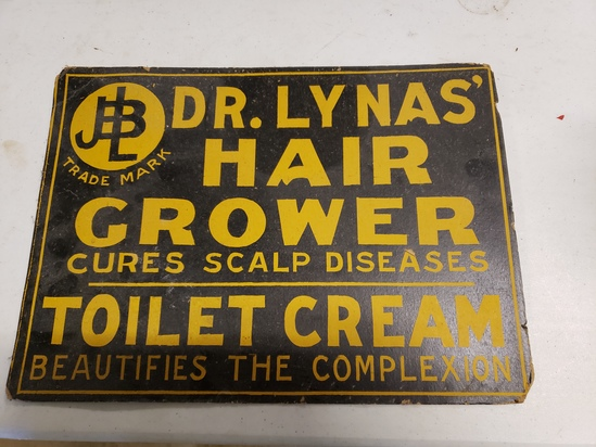 Dr Lynas' Cardboard Sign