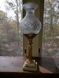 1800-1840s Argand Lamp