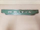 Whiten Cotton Loom Plaque