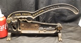 Antique Tobacco Cutter with Nutcracker
