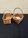 2 Small Cherokee Baskets