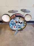 1950's Micky Mouse Drum Set