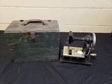 Early 1900's Feather Weight Sewing Machine
