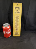 1950's Fairburn Ice & Coal Co. Thermometer