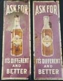 1920's Queen Cola Signs