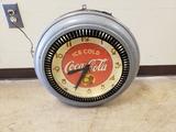 1940's Coca Cola Spinner Neon Clock