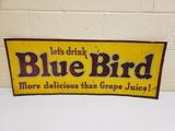 1940's Blue Bird Soda Sign