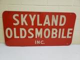 1959 Skyland Oldsmobile Sign
