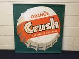 1950's Orange Crush Cap Sign