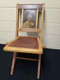 Dukes Cameo Cigarette Folding Chair