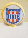 1960's Dixie Gas Globe