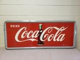 1950's Coca Cola Horizontal Sign