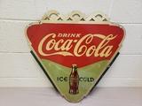 1933 Coca Cola Bracket Sign