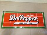 1930-40s Porcelain Dr. Pepper Sign