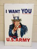 Vietnam Era Uncle Sam Sign