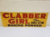 1952 Clabber Girl Sign