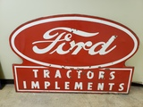 1950s Ford Tractors and Implements Sign