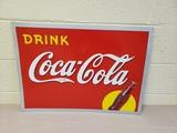 NOS 1938 Coca Cola Sign