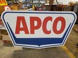 1960 APCO Dealer Sign