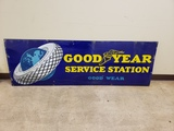 1930s Goodyear Service Station Sign