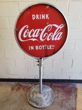 1940s Coca Cola Lollipop Sign -