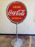 1946 Coca Cola Lollipop Sign