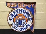 1930s Greyhound Bus Flange