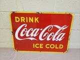 1950s Canadian Coca Cola Sign