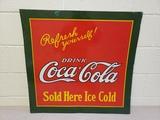 1927 NOS Coca Cola Sign